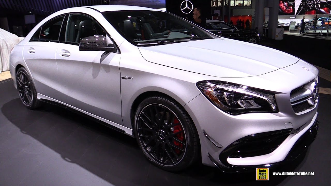 2017 Mercedes Amg Cla45 Exterior And Interior Walkaround Debut At 2016 New York Auto Show