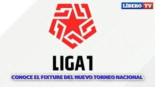 Sorteo Liga 1 - 2019 / Conoce el Fixture del nuevo torneo nacional - Líbero TV