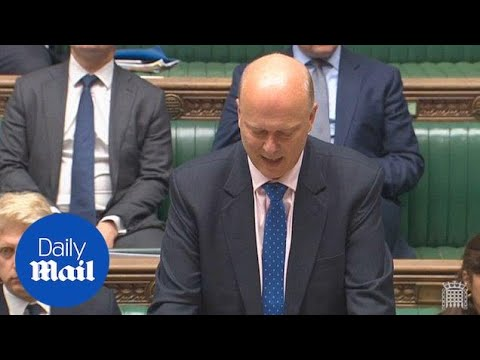 Chris Grayling's terminating Virgin Trains East Coast contract - Daily Mail