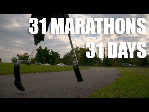 31 Marathons in 31 Days | Veteran Amputee Rob Jones