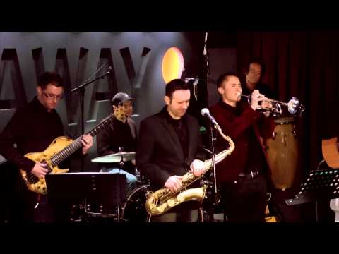 'Mo Better Blues' - performed by J-Sonics live at Hideaway, London March 14 2013