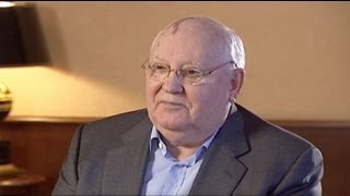 euronews interview - Gorbachev reflects on course of modern Russia