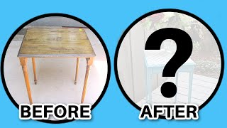 Garbage To Gorgeous Episode #4:  Table Makeover Diy