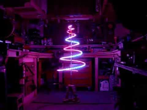 led christmas tree with dream color 5050 rgb 6803 lights youtube - Christmas Tree Led Lights