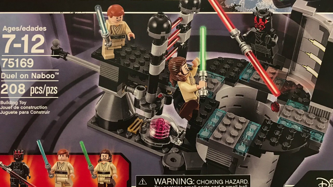 LegoDuel Time Lapse Starwars On 75169 Naboo c4Lj5S3ARq