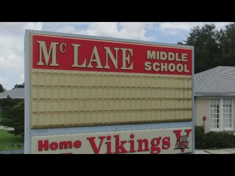 Fire rips through McLane Middle School