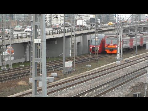 Белорусское направление МЦД-1. Подвижной состав МЦД и другие поезда.