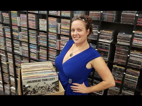 Back to Vinyl in the Record Store!