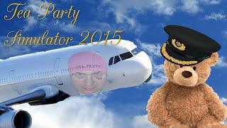 aircraft tea party tea party simulator