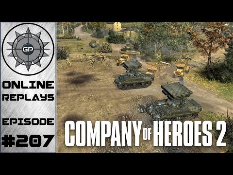 Company of Heroes 2 Online Replays #207 - Missing the Key to Victory