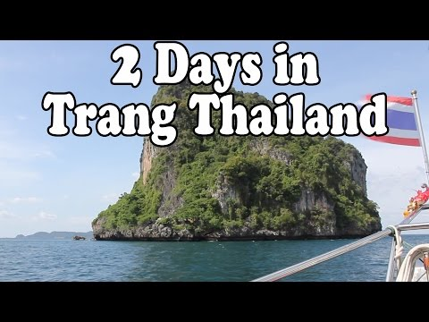 Trang Thailand: 2 Days in Trang. Islands, Beaches, Markets and Thai Street Food. Thailand Vlog