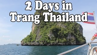Trang Thailand: Thai Street Food, Islands, Beaches and Markets. 2 Days in Trang Thailand Vlog