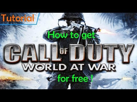 How To Get Call Of Duty World At War For Free !