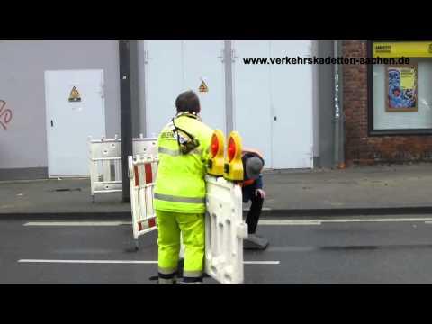 Verkehrskadetten Aachen im Einsatz Innenstadt 23.11.2013