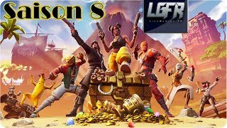 SAISON FORTNITE 8 Presentación - Descubrimiento [Combat Pass]