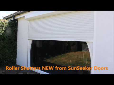 Roller-Shutters opening up demo YouTube