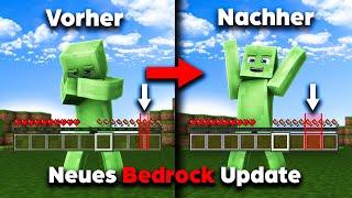 ENDLICH hat Minecraft dąs behoben! (Neues Bedrock Update 1.17.30)