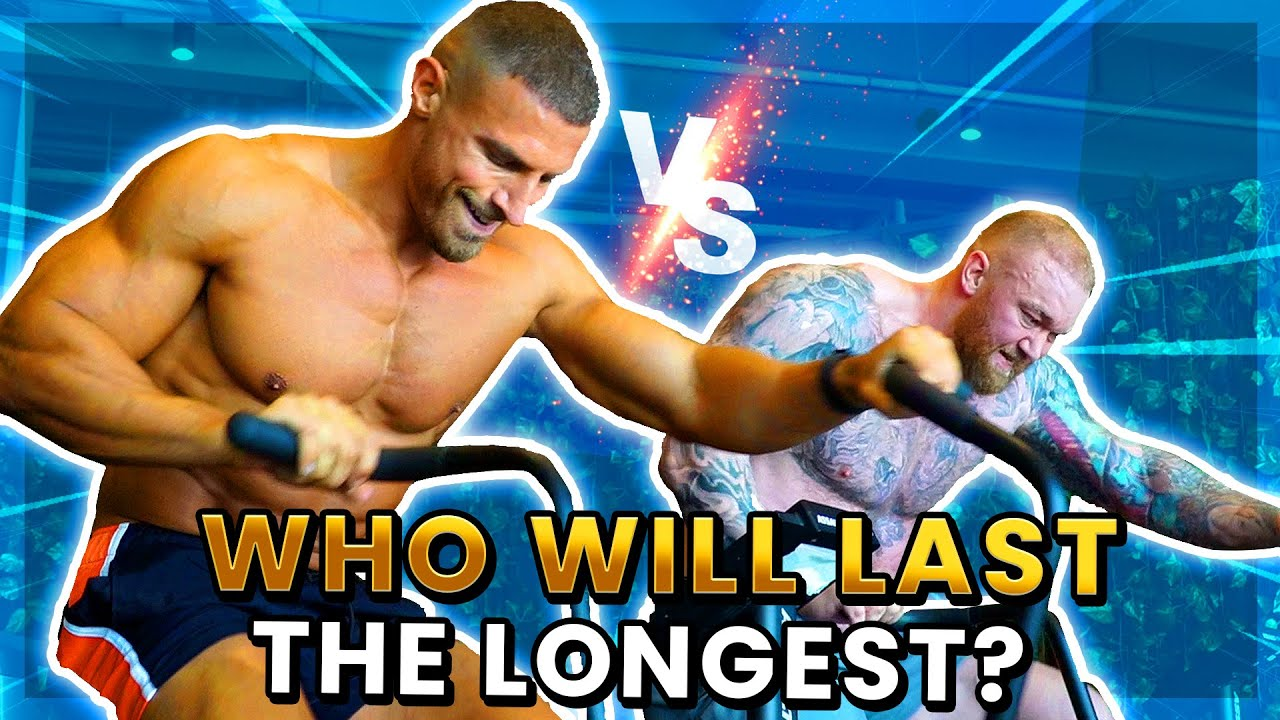 THOR VS MIKE!  Who has better cardio? Ft. Mike Thurston
