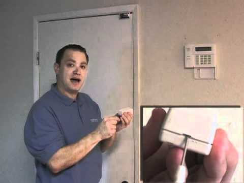 How To Replace A Battery In A Wireless Doorwindow Sensor Youtube