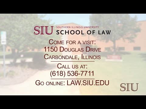 SIU School Of Law – Southern Illinois University Carbondale @ 150