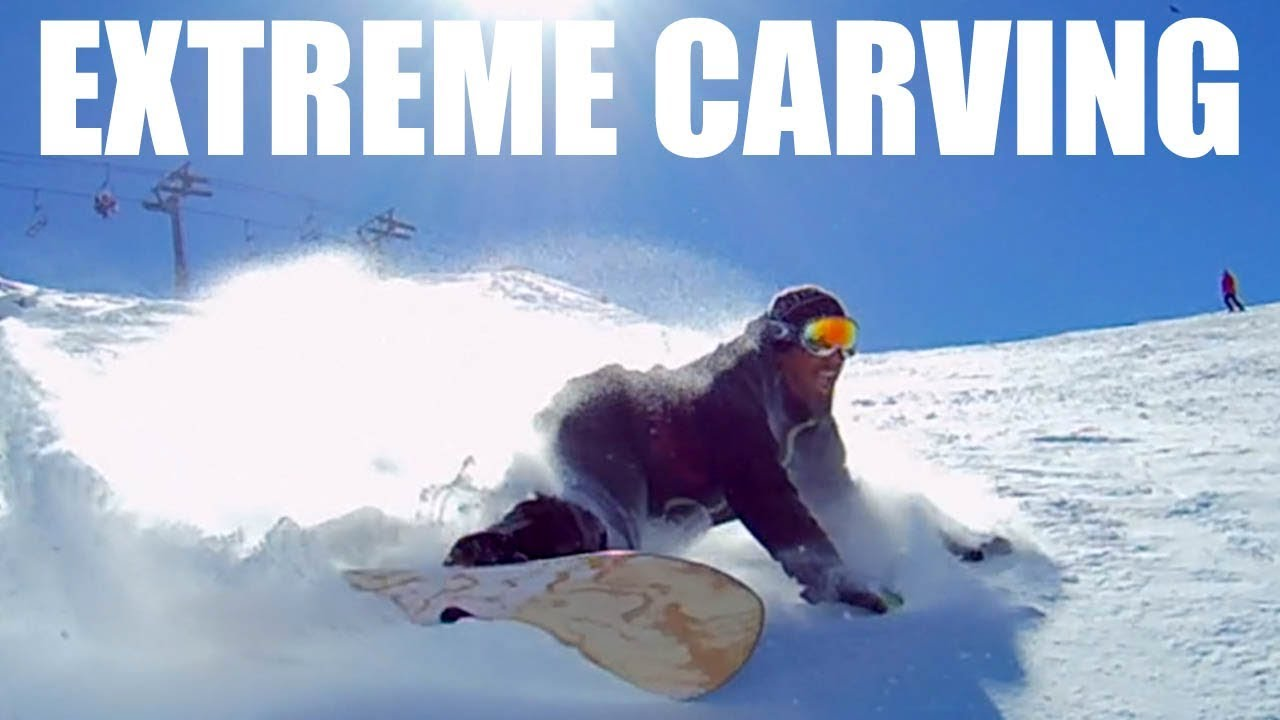 Extreme Snowboard Euro Carving With Janlho Courchevel Vlog S2 E21