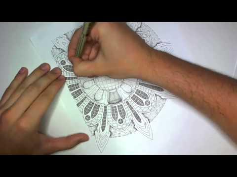 Drawing an Architectural Mandala