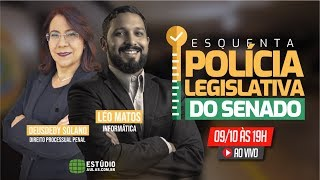 Aula gratuita para Polícia Legislativa do Senado | Direito Processual Penal e Informática
