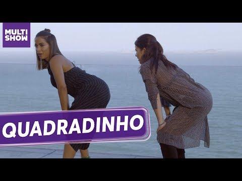 Anitta deu uma AULA DE QUADRADINHO pra Fernanda Souza! | ESQUENTA Vai, Fernandinha | Humor Multishow