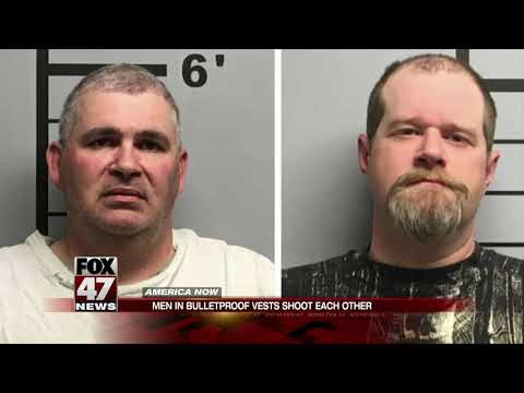 Terry J - Two Men Wearing Bulletproof Vest Shoot Each Other After Getting Drunk