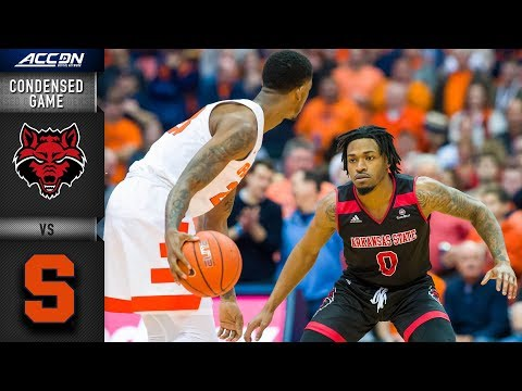 Arkansas State vs. Syracuse Condensed Game | 2018-19 ACC Basketball