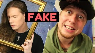 THREATIN The FAKE ROCK STAR EXPOSED 😮 WORLD TOUR IN EMPTY VENUES INTERVIEW