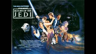 Star Wars Return Of The Jedi Soundtrack: Battle Of Endor (whole)