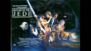 Star Wars Return Of The Jedi Soundtrack: Battle Of Endor (whole)