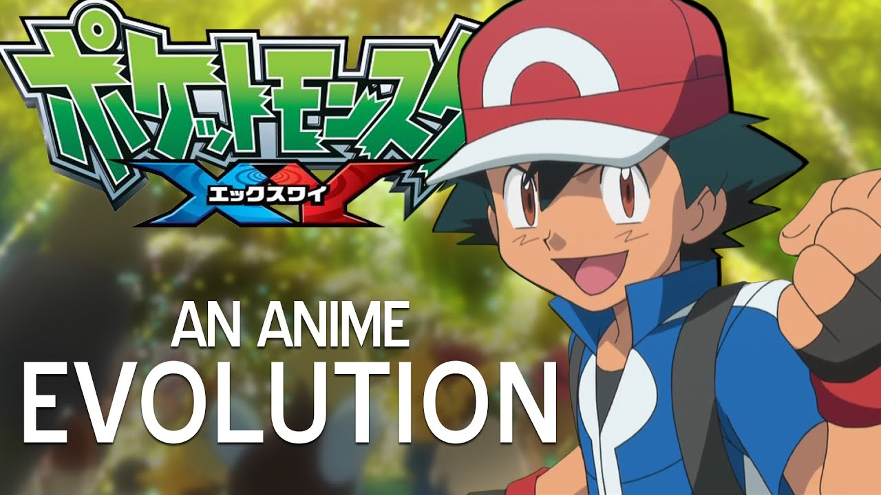 pokemon xy an anime evolution the canipa effect youtube