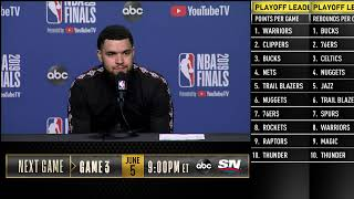Fred VanVleet Press Conference | NBA Finals Game 2