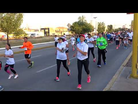 MARATÓN AGUASCALIENTES 2017 PRIMEROS KILOMETROS
