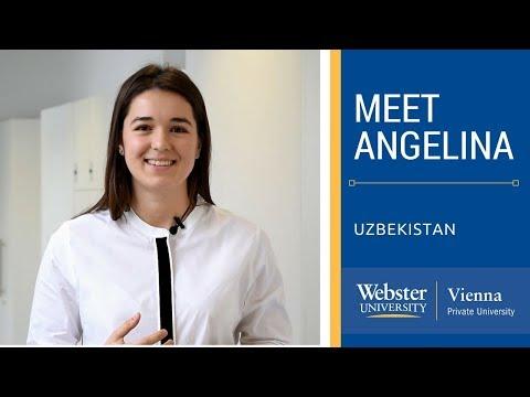 Meet Angelina from Uzbekistan -  Webster Vienna
