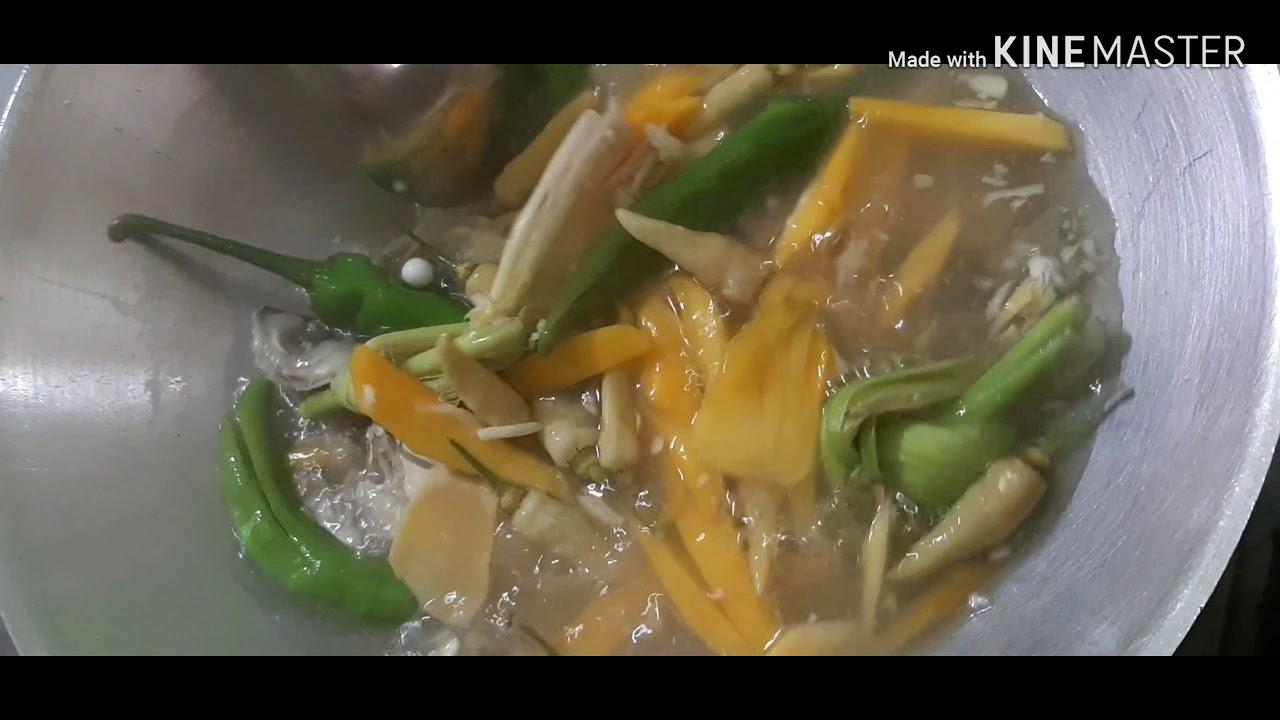 Sup Ikan Campur Mangga Youtube
