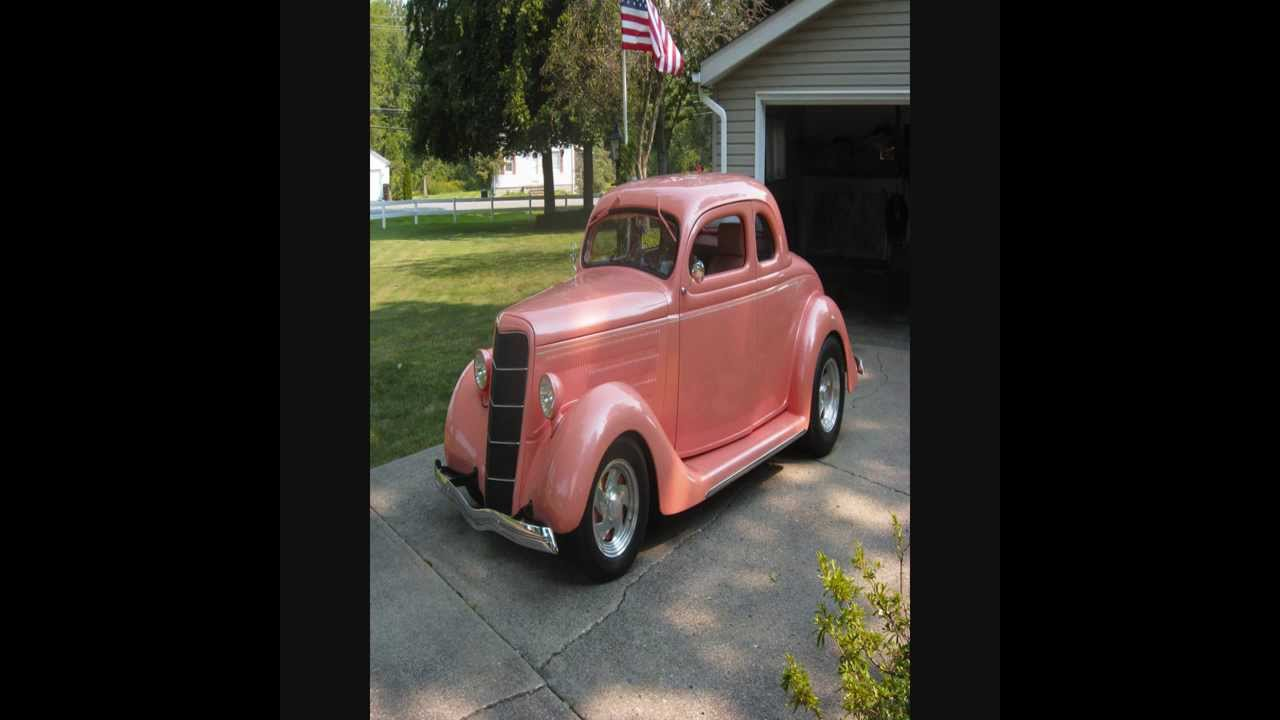 1935 Ford Coupe Old Car For Sale Auto Classic Trader - YouTube