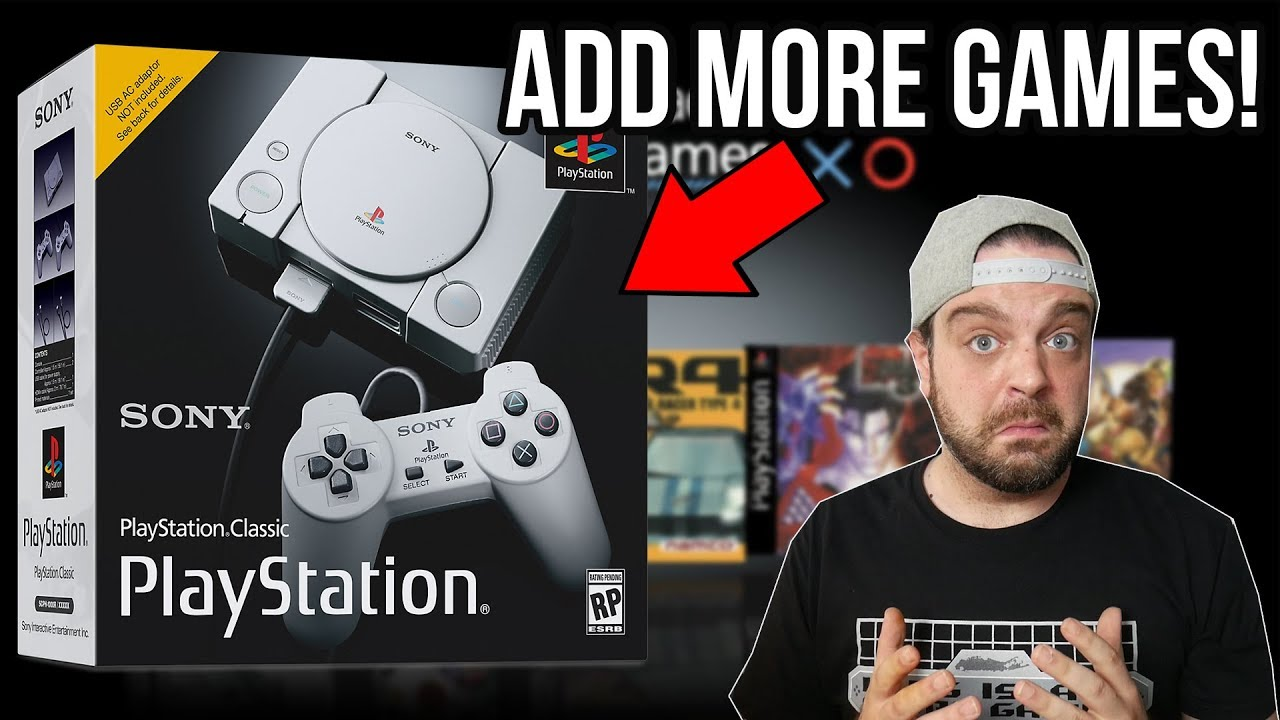 How To ADD MORE GAMES to Playstation Classic! | RGT 85 - YouTube