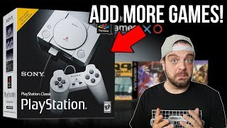 How To ADD MORE GAMES to Playstation Classic! | RGT 85