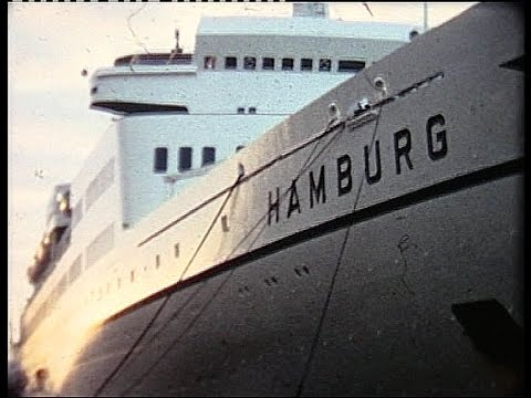 Cruise 1970 by ss Hamburg to Capetown