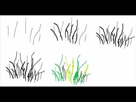 How To Draw A Grass Texture Step By Step Drawing Tutorial