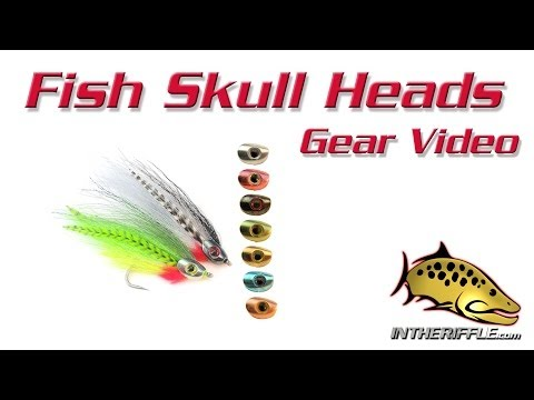 Fish Skull Streamer Head Fly Tying Instructions and Directions