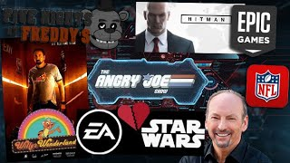 AJS News - EA Loses Star Wars, Nick Cage FNAF Movie, New NFL Mobile Games, Hitman Epic New Content!