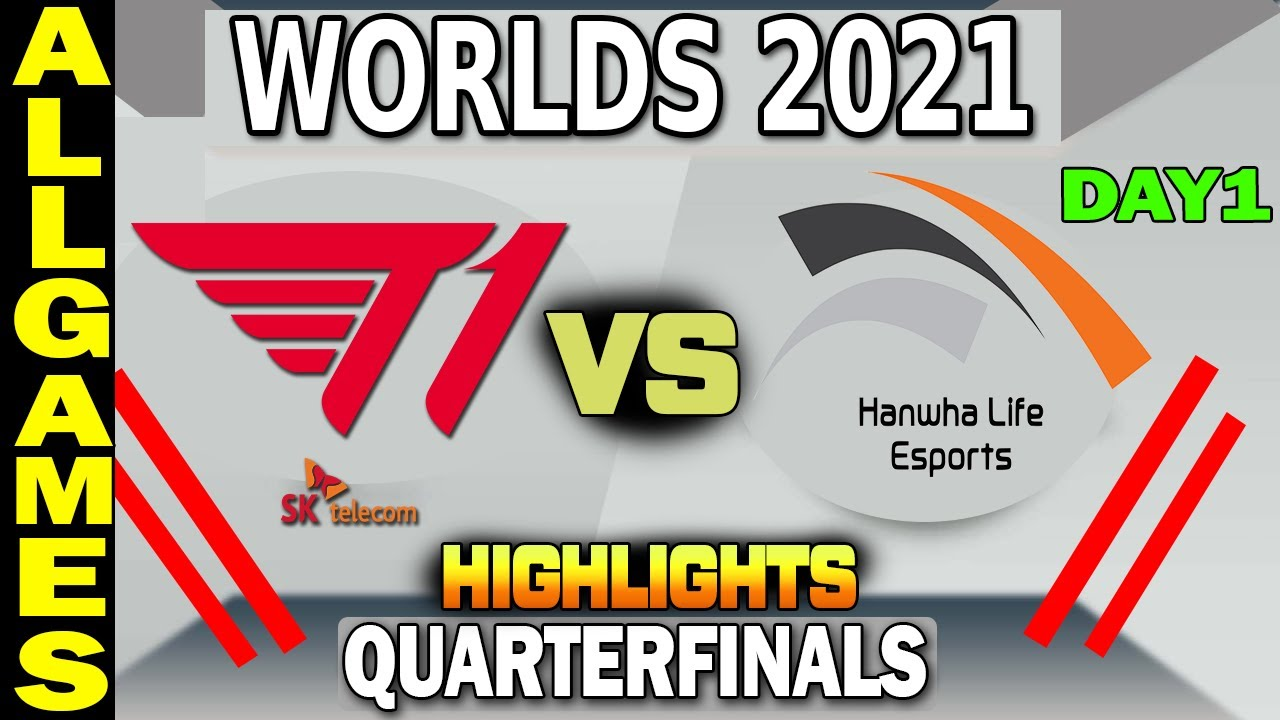 Download T1 VS HLE All Games Highlights | GAME 1-2-3 | Quarterfinals Day 1 | LoL Worlds 2021 | T1 vs Hanwha