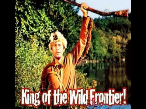 TV Themes 50s  Fess Parker  Ballad of Davy Crocket