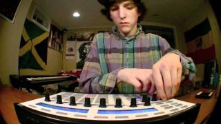 Bangin' Jazz Flip by Felly on the Maschine (16 years old)
