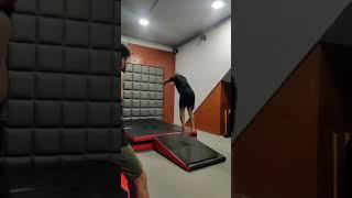 Ricky Parkour gymnastic flips video  #shorts #youtubetrending #ytshorts #rickygymnast #viral #class