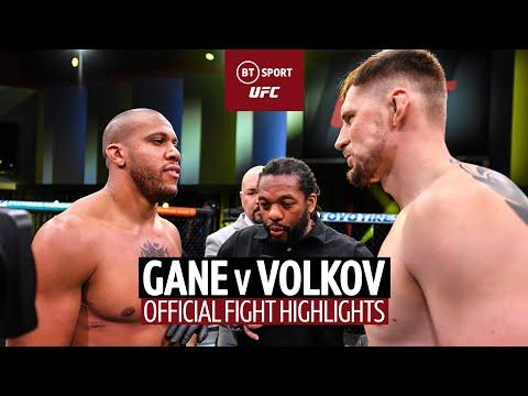Bon Gamin can't be stopped! Cyril Gane v Alexander Volkov | UFC Fight Highlights